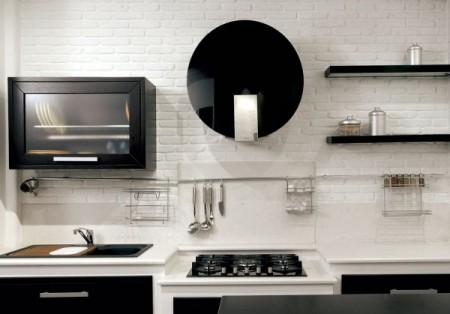 mattoncino bianco banco cucina