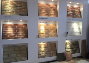 Pietra ricostruita Roma finta pietra Roma Pietra ricomposta Roma interni esterni antigeliva