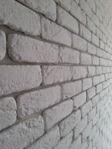 Pietra ricostruita Primiceri Mattone bianco