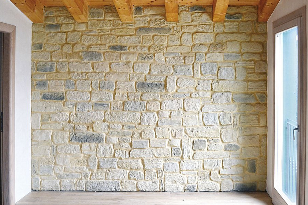 Parete rivestita in pietra ricostruita latest parete rivestita in
