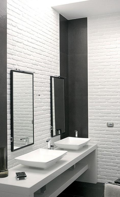Il bagno rinnovare con la pietra for Rivestire piastrelle bagno