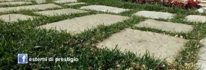 Pavimento vecchio basolato Primiceri