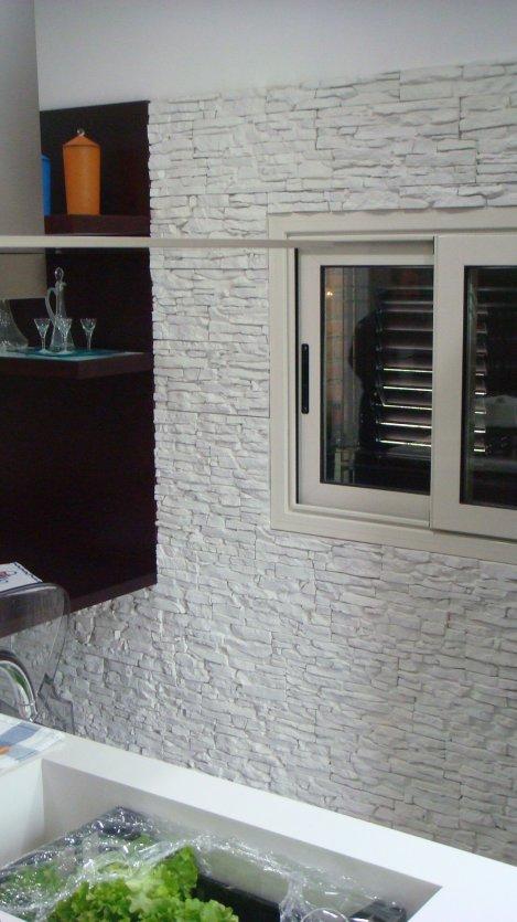 petra bianca in cucina