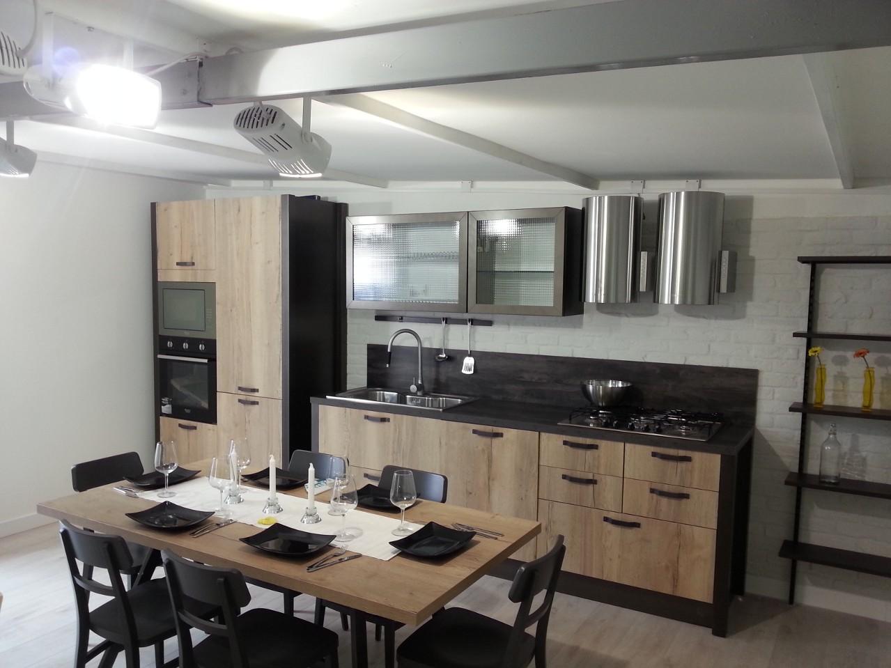 Cucina mattone b trep rm 14 rinnovare con la pietra - Rivestimento cucina finta pietra ...