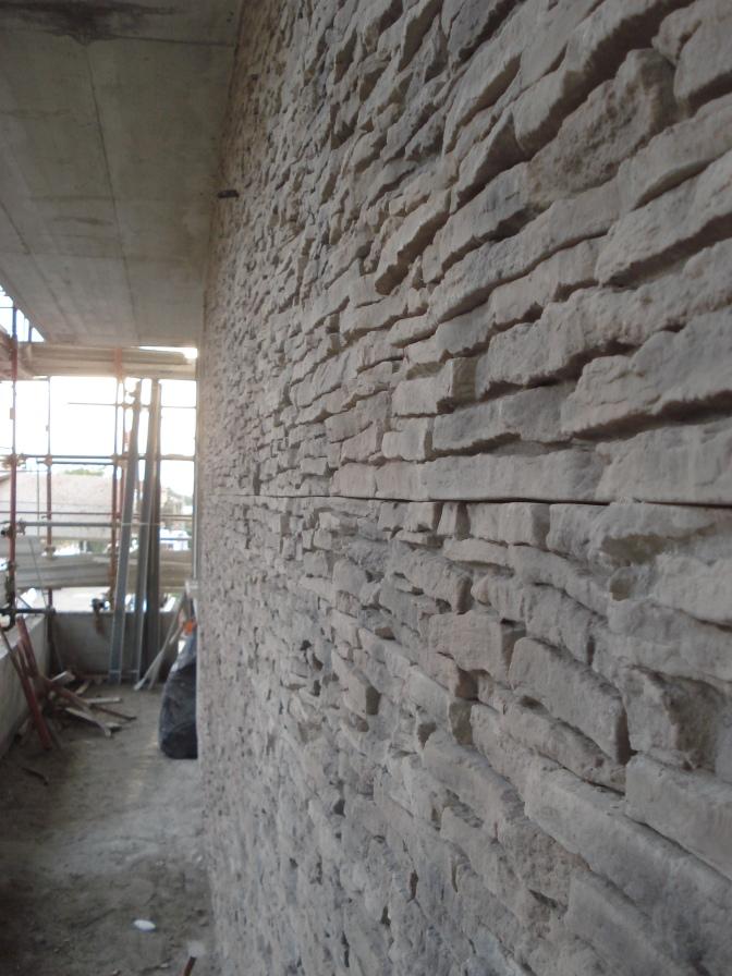 Rivestimento facciata esterna PETRA grigiofumo