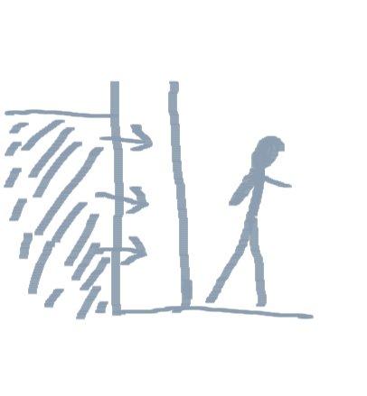 Parete controterra umidità, rivestire una parete umida con pietra, pietra ricostruita umidità