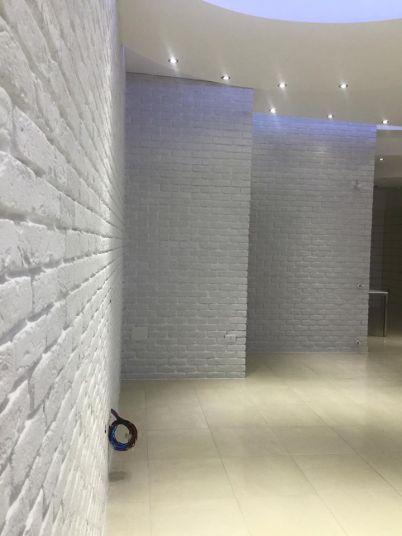 mattone bianco prospettiva