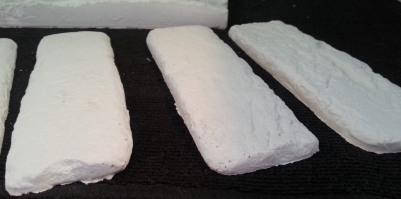 mattone bianco tris