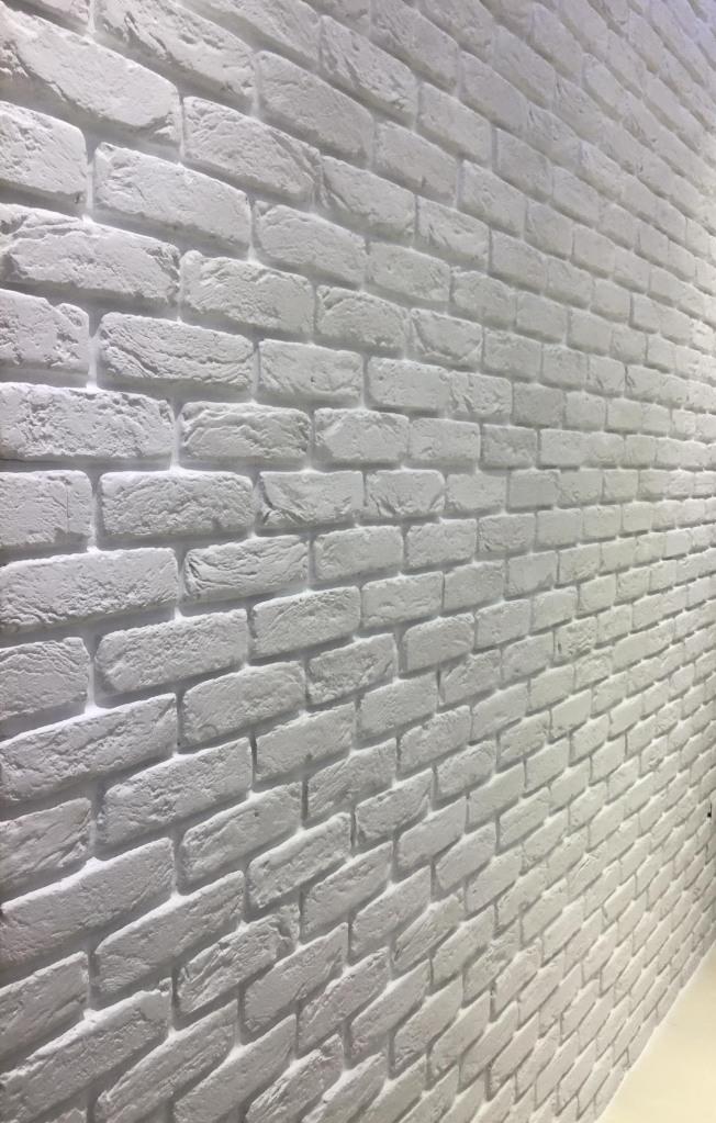 La parete in Mattone bianco Primiceri