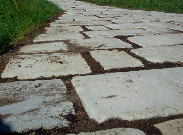 Giardino che passione u rinnovare con la pietra
