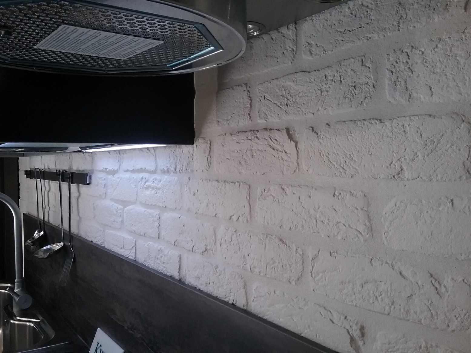 Perch arredare con i mattoni rinnovare con la pietra - Archi mattoni vista in cucina ...