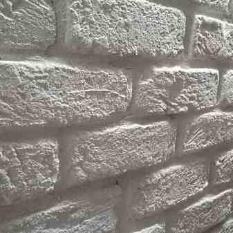 mattoni bianchi, parete rivestita in mattoni bianchi, mattoni bianchi effetto loft
