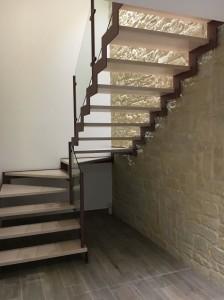 Pareti vano scala, rivestire vano scale, scale, come rivestire, pietra finta, finta roccia roma, prezzi pietra artificiale