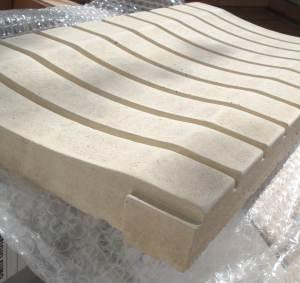 griglie per piscina in pietra ricostruita Primiceri