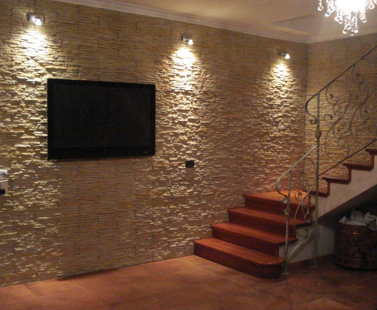 Appendere Tv Muro rivestire una parete in soggiorno dietro la tv – rinnovare
