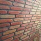 """Una parete """"arlecchino""""? (parete ritmata in listelli colorati)"""